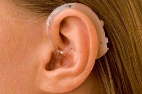 Hallásjavító készülék beépített mikrofonnal