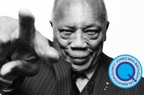 Quincy Jones születésnapi koncert az Arénában