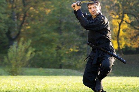 2 alkalmas ninjutsu edzés a Gellért-hegynél