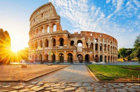 Kiruccanás az örök városba, Rómába
