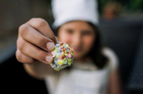 Kézműves csoki készítés gyermekeknek