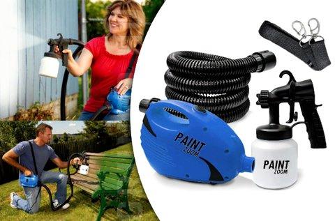 Paint Zoom festékszóró pisztoly állítható szórófejjel