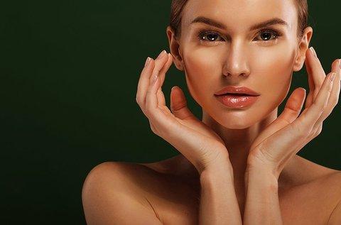 Plazma kezelés teljes arcon, hidroabrázióval