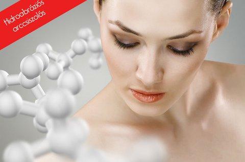 Hidroabráziós arccsiszolás ultrahang kezeléssel