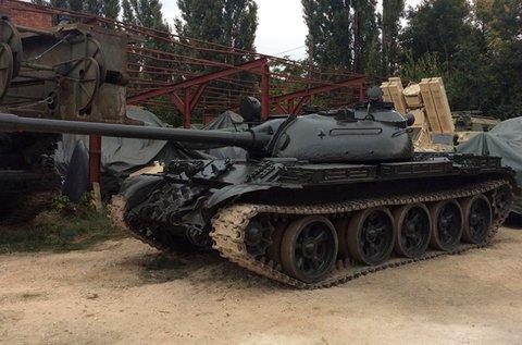 15 perces T72-es vagy T55-ös tankvezetés terepen