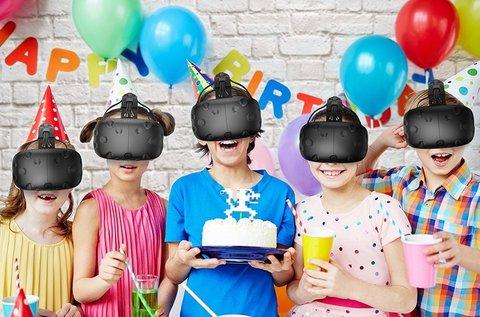 3 órás szülinapi party gyerekeknek VR teremben
