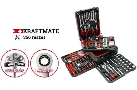 356 részes profi Kraftmate Pro szerszámkészlet