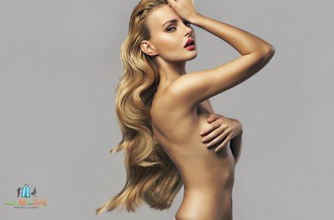 Hajvágás mélyhidratáló argánolajos hajvégápolással