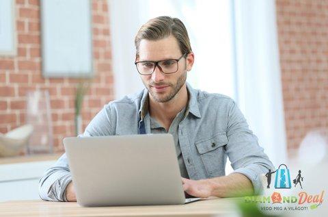 Monitor munkaszemüveg látásellenőrzéssel