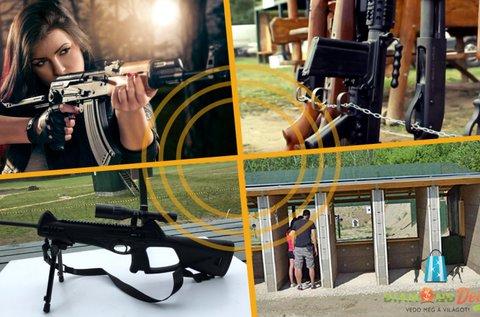 20-20 lövés 3 db választható fegyverrel Ráckevén