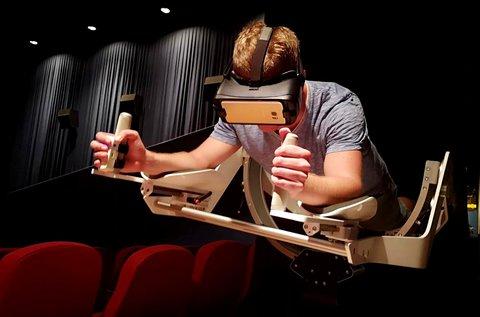 60 perces VR szemüveges repülés Icaros készülékkel