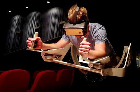 2 órás VR szemüveges repülés Icaros készülékkel
