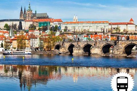 Non-stop buszos kirándulás Prágában
