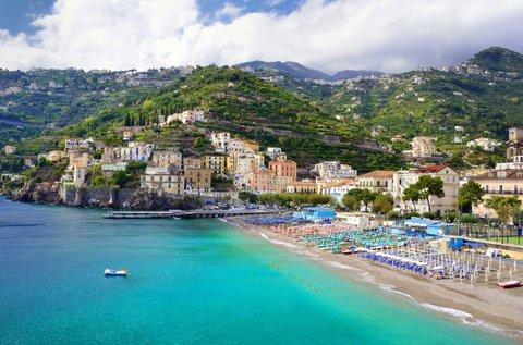 Dél-olasz nyár Sorrentóban buszos utazással