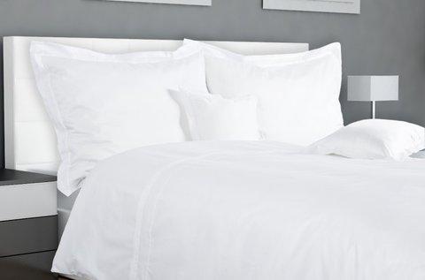 Hófehér 7 részes pamut ágynemű garnitúra