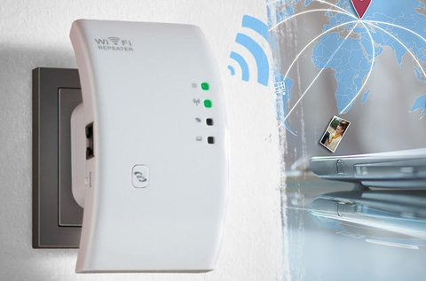 WiFi jelerősítő irodába vagy otthoni használatra