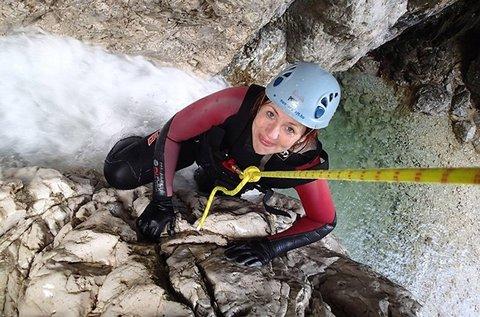 Kanyoning túra a csodás Szlovéniában