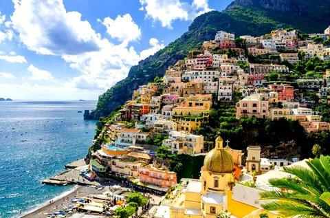 Varázslatos üdülés Olaszországban repülővel