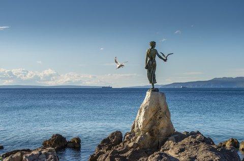 4 napos feltöltődés Horvátország tengerpartján
