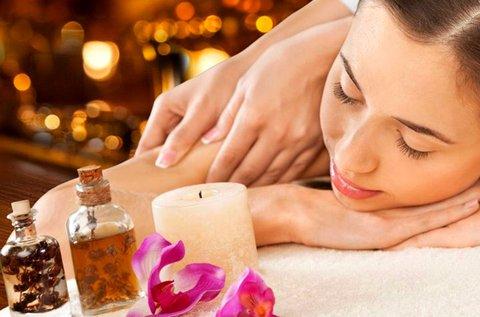 60 perces relaxációs, aromaterápiás masszázs