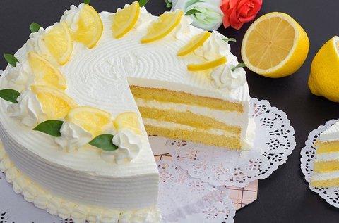 12 szeletes citromos torta kiszállítással