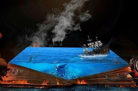 Mélytengeri kaland szabadulós játék 2-8 főnek