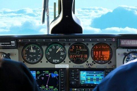 1 órás repülőgép szimulátorozás Budakeszin