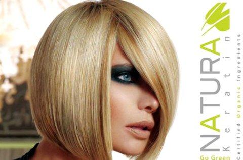 Natura Keratin tartós hajegyenesítés