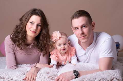 Nyári családi fotózás 4 fő részére