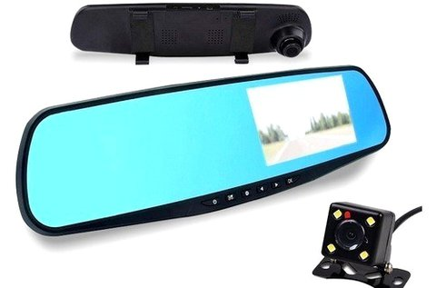 Full HD menetrögzítős és tolatókamera