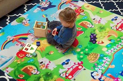 Játszószőnyeg gyerekeknek  kül- és beltérre