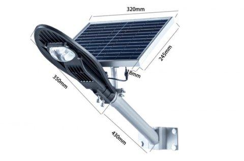 CClamp integrált napelemes kültéri lámpa