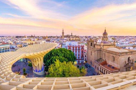 Mesés vakáció Andalúzia fővárosában, Sevillában