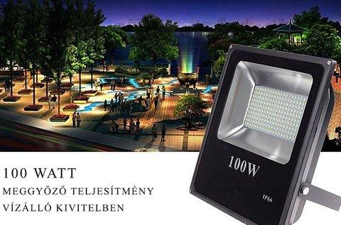 100 W-os SMD LED reflektor kül- és beltérre