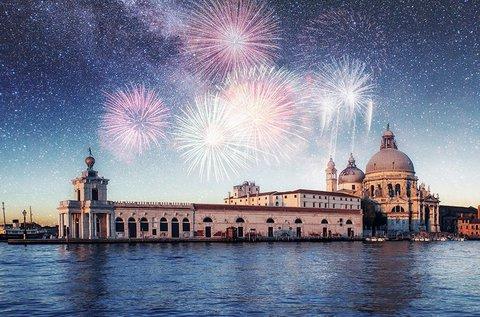 Újévi utazás a lagúnák városába, Velencébe