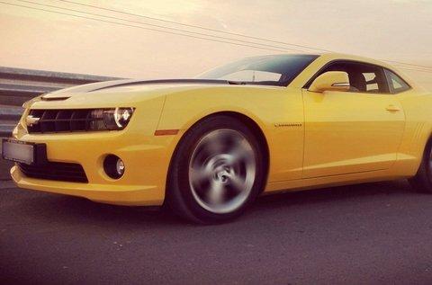 3 körös száguldás egy Chevrolet Camaroval