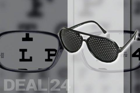 Látásjavító raszterszemüveg szemtornához