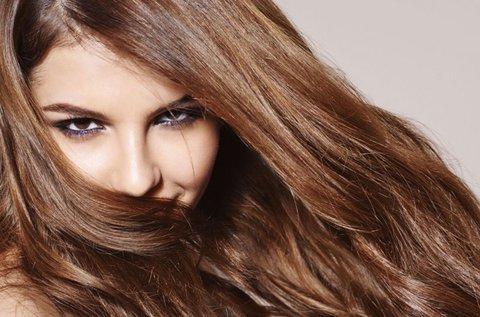 100 tincs 50 cm hosszú valódi haj felrakása