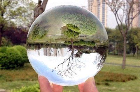Speciális fotós üveggömb