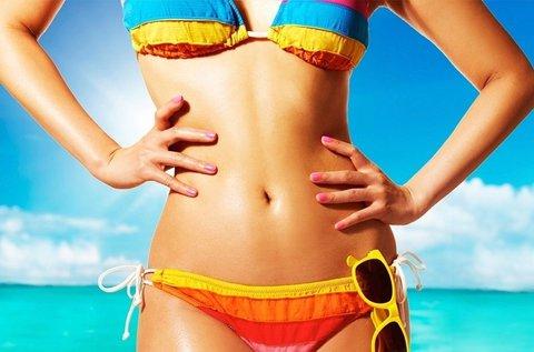 2 órás bikini start program Dermalife Jet kabinban