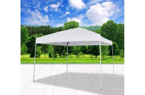 Összecsukható 3x3 m-es fehér kerti pavilon