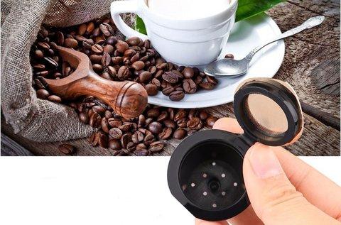 Újratölthető 2 db-os kávékapszula szett