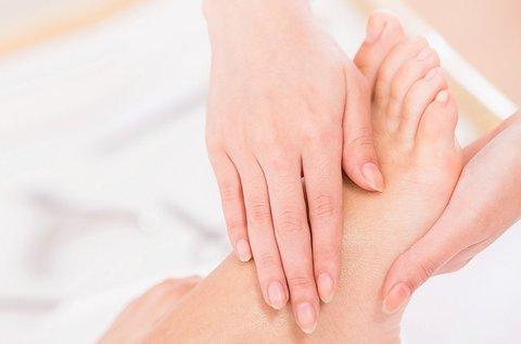 Kéz- vagy lábápoló csomag paraffinos ápolással