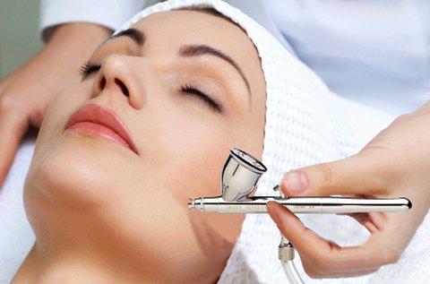 Oxygen Jet Peel oxigén spray kezelés teljes arcon