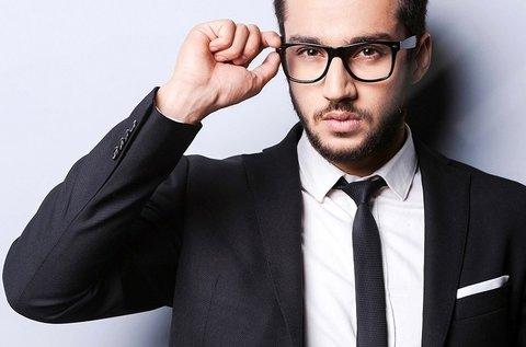 Komplett szemüveg divatos kerettel, látásvizsgálattal