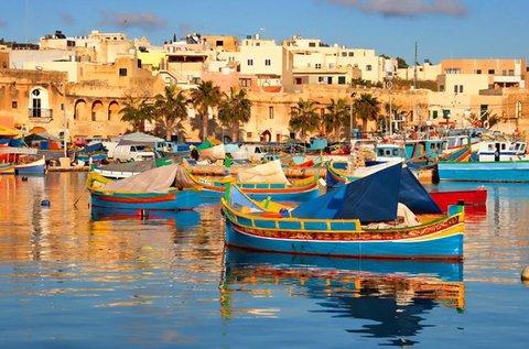 4 napos adventi pihenés Máltán repülővel