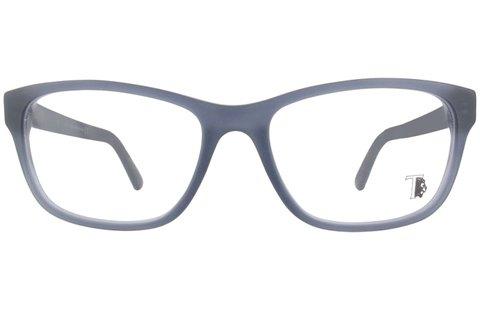 Tods férfi szemüvegkeret türkiz színben