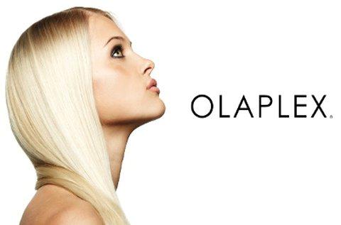 Olaplex hajújraépítés mosással és szárítással