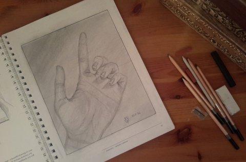 3 vagy 4 napos jobb agyféltekés rajzolás