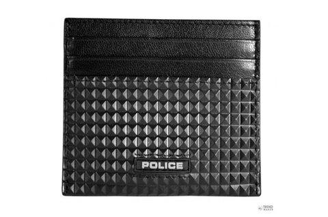 Police férfi bőr hitelkártya tartó